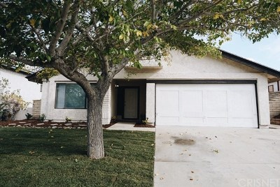 Palmdale Single Family Home For Sale: 36664 Little Leaf Drive