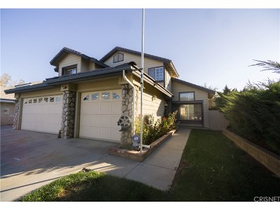 Lancaster Single Family Home For Sale: 45308 Pickford Avenue