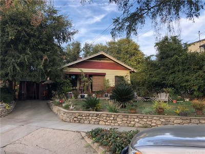 Pasadena Single Family Home For Sale: 1138 Forest Avenue