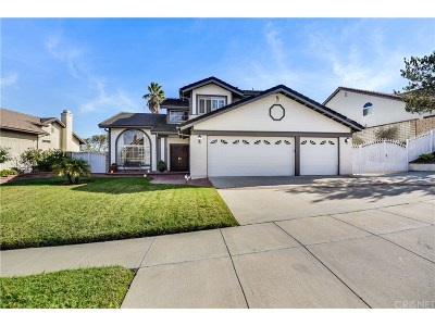 Simi Valley Single Family Home For Sale: 762 Verdemont Circle