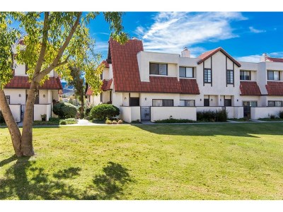 Canyon Country Condo/Townhouse For Sale: 27616 Nugget Drive #1