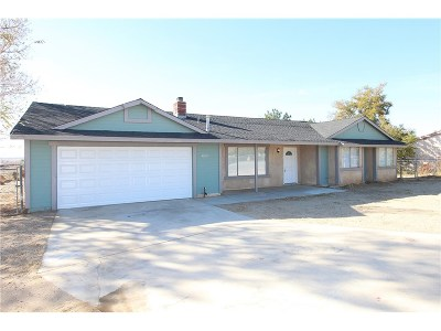 Lancaster Single Family Home For Sale: 41001 158th Street East