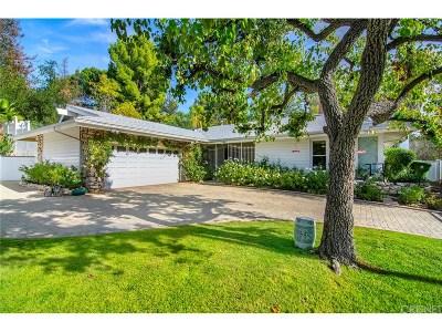 Tarzana Single Family Home For Sale: 4700 Rosita Place
