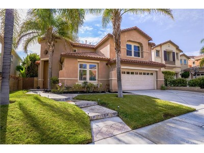 Saugus Single Family Home For Sale: 28407 Horseshoe Circle