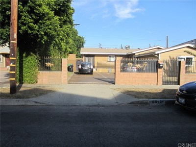 Single Family Home For Sale: 6812 Varna Avenue