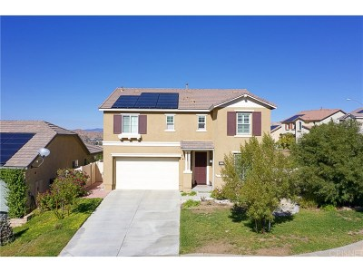 Canyon Country Single Family Home For Sale: 17151 Hickory Ridge Court
