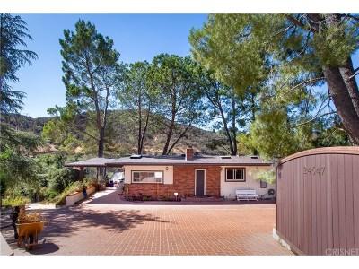 Calabasas CA Single Family Home For Sale: $1,345,000