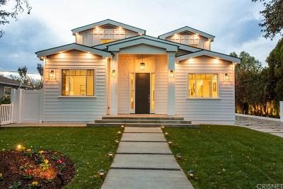 Sherman Oaks Single Family Home Sold: 4943 Stern Avenue