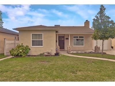 Burbank Single Family Home For Sale: 1810 West Oak Street