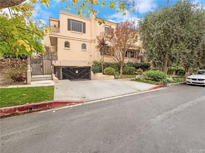 Sherman Oaks Condo/Townhouse Sold: 14100 Dickens Street #2