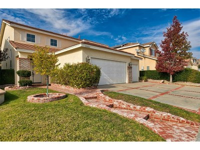 Stevenson Ranch Single Family Home For Sale: 26061 Salinger Lane