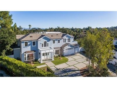 Encino Single Family Home Sold: 16701 Bajio Court