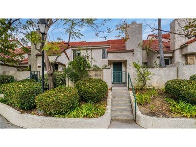 Westlake Village Condo/Townhouse Sold: 973 Via Colinas