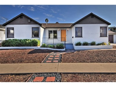 North Hollywood Single Family Home For Sale: 6854 Vanscoy Avenue