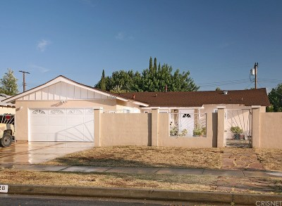 Canoga Park Single Family Home For Sale: 22128 Elkwood Street