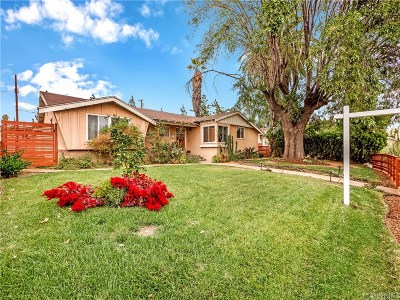 North Hills Single Family Home Active Under Contract: 15835 Tuba Street