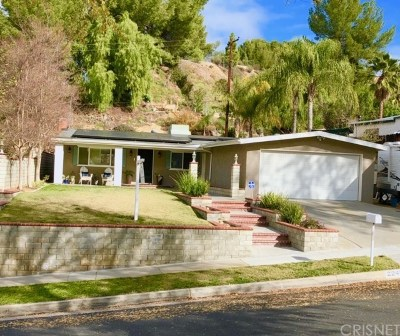 Saugus Single Family Home For Sale: 22425 Guadilamar Drive