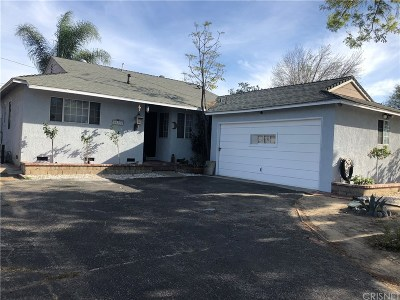Mission Hills San Fernando Single Family Home Active Under Contract: 10352 Orion Avenue