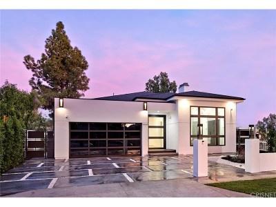 Sherman Oaks Single Family Home Sold: 4664 Lemona Avenue