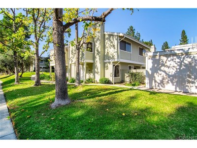 Woodland Hills Condo/Townhouse For Sale: 22103 Burbank Boulevard #2