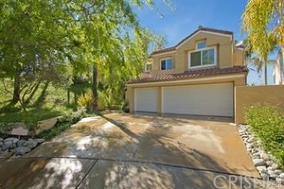 Calabasas Single Family Home Sold: 24651 Calle Ardilla