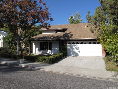 Saugus Single Family Home For Sale: 21655 Grovepark Drive