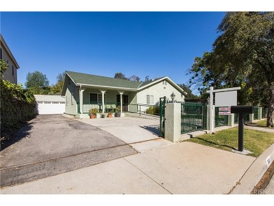 Los Angeles County Single Family Home For Sale: 5935 Wilbur Avenue