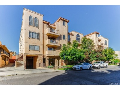 Los Angeles Condo/Townhouse For Sale: 837 North Hudson Avenue #402