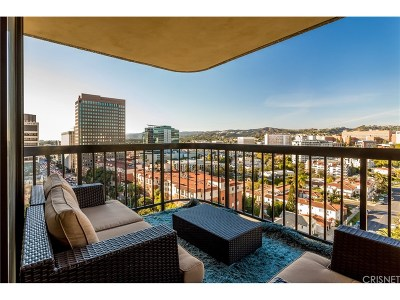 Los Angeles Condo/Townhouse For Sale: 10790 Wilshire Boulevard #1201