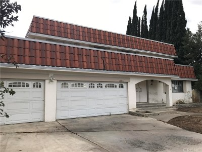 Northridge Single Family Home For Sale: 16834 Klee Street