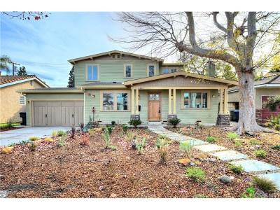 Burbank Single Family Home For Sale: 4400 West Woodland Avenue
