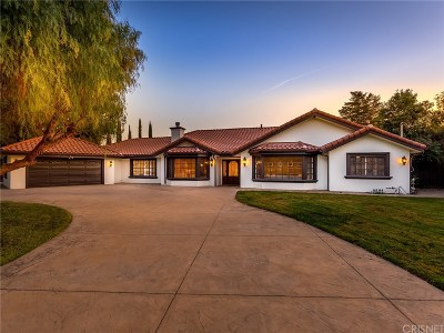 Woodland Hills Single Family Home Sold: 23030 Collins Street