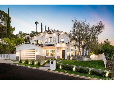 Encino Single Family Home For Sale: 16656 Oldham Street