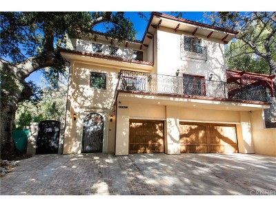 Calabasas Single Family Home For Sale: 22951 Humming Bird Way
