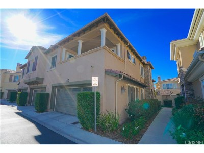 Valencia Condo/Townhouse For Sale: 23812 Toscana Drive