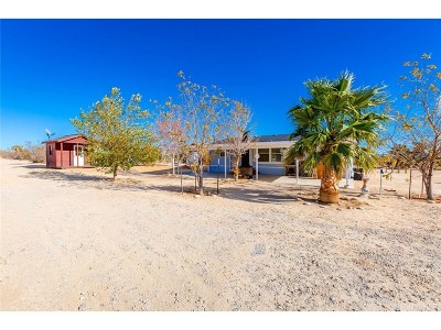 Rosamond Single Family Home For Sale: 1370 220th Street West