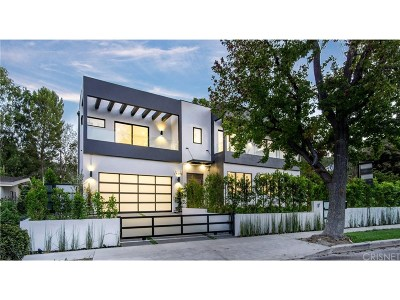 Encino Single Family Home Sold: 16108 Dickens Street