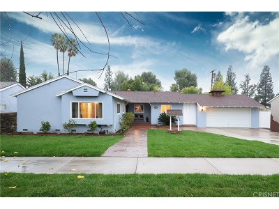 Porter Ranch Single Family Home Active Under Contract: 18200 Lahey Street
