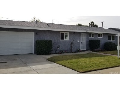 Simi Valley Single Family Home For Sale: 1662 Ahart Street