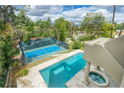 Woodland Hills Single Family Home For Sale: 22139 Mulholland Drive