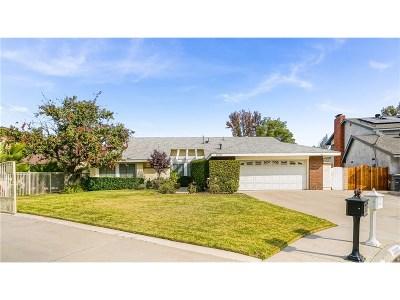Valencia Single Family Home For Sale: 23303 Tristin Drive