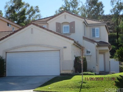 Valencia Single Family Home For Sale: 23556 Silverhawk Place