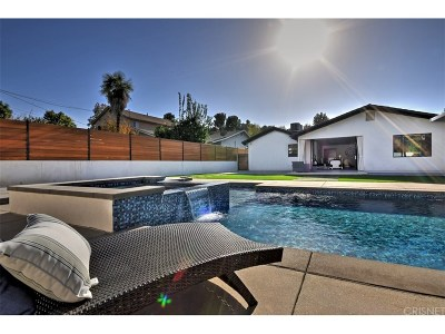 Woodland Hills Single Family Home For Sale: 21641 Mulholland Drive