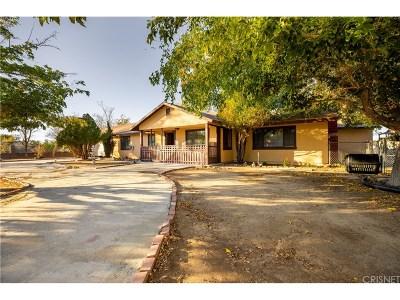 Littlerock Single Family Home For Sale: 10603 East Avenue R12