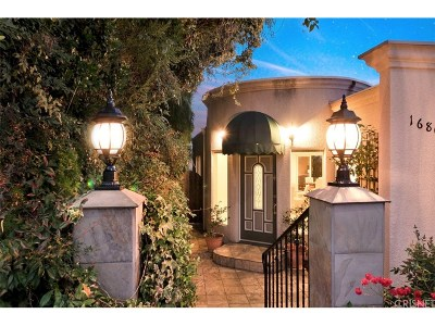 Encino Single Family Home For Sale: 16805 Severo Place
