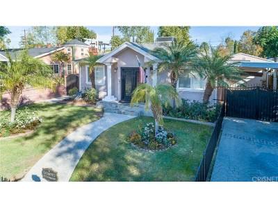 Sherman Oaks Single Family Home Active Under Contract: 5742 Cedros Avenue