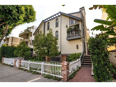 Santa Monica CA Condo/Townhouse For Sale: $1,999,500