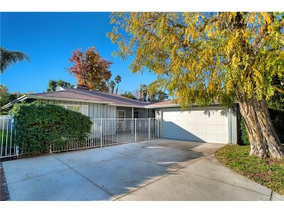 Sherman Oaks Single Family Home For Sale: 5333 Buffalo Avenue