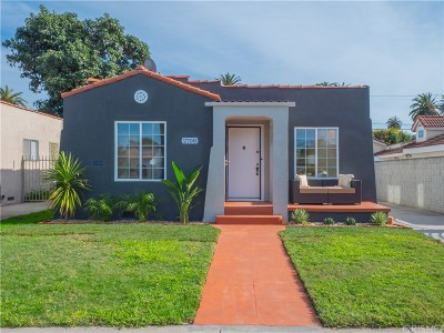 Los Angeles Single Family Home For Sale: 2708 West View Street