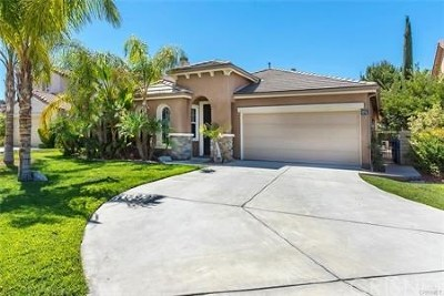 Saugus Single Family Home For Sale: 28427 Connick Place